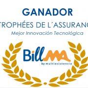 BillMA, ganadora del premio Trophées de l´Assurance a la mejor innovación tecnológica